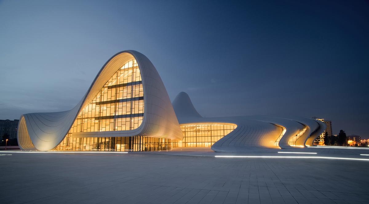 Культурньıй центр Гейдара Алиева — Heydar Aliyev Cultural Center