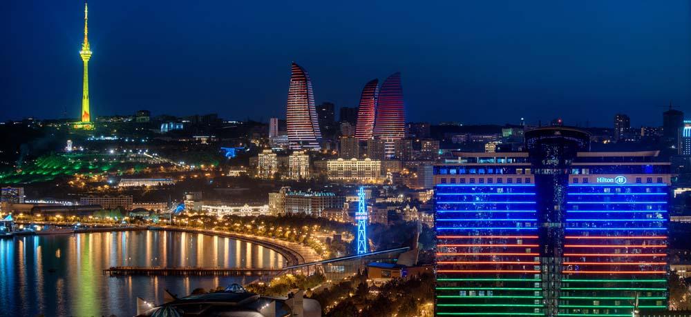 Баку современный