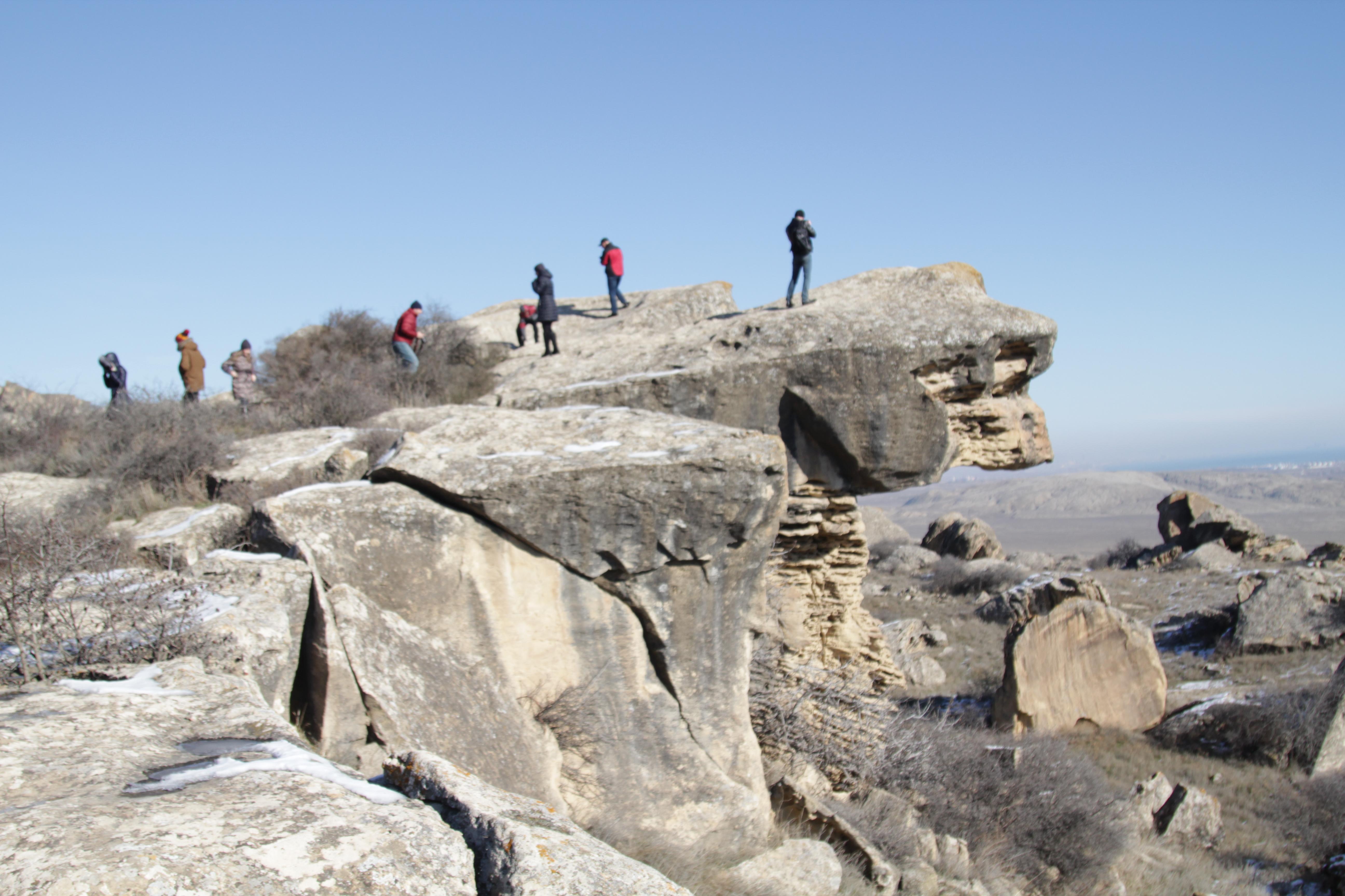Фото-отчёт нашей поездки в Гобустан