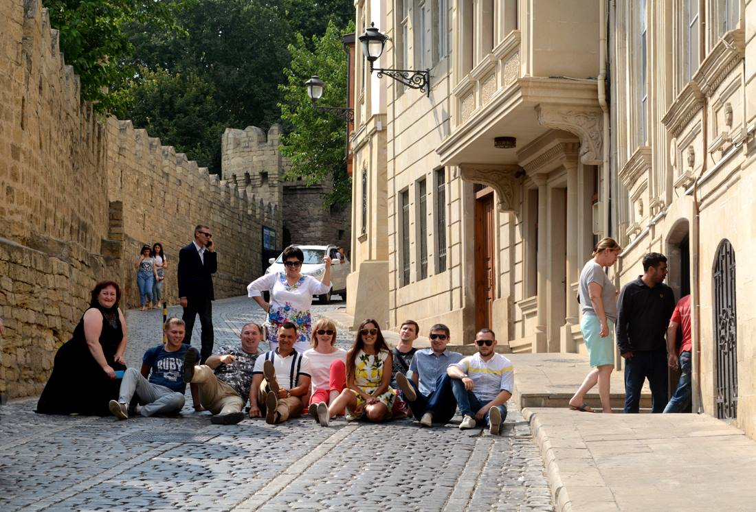 Обзорная экскурсия для гостей из Казани.
