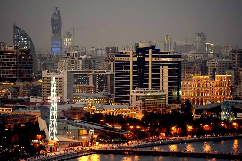 Современный Баку — Modern Baku