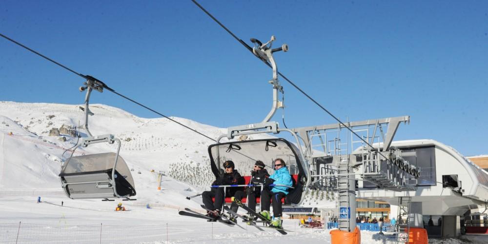 Горнольıжньıй тур на зимнем курорте «Туфандаг» —  Ski tour to the winter resort «Tufandag»