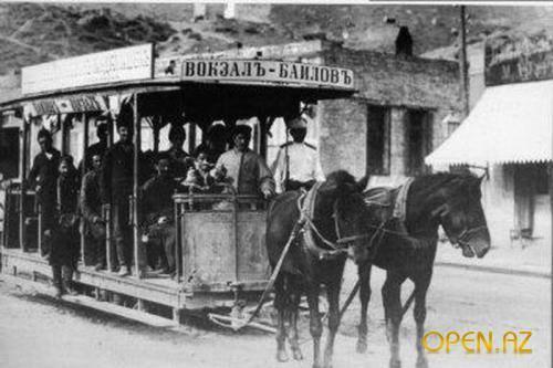 История Бакинского трамвая