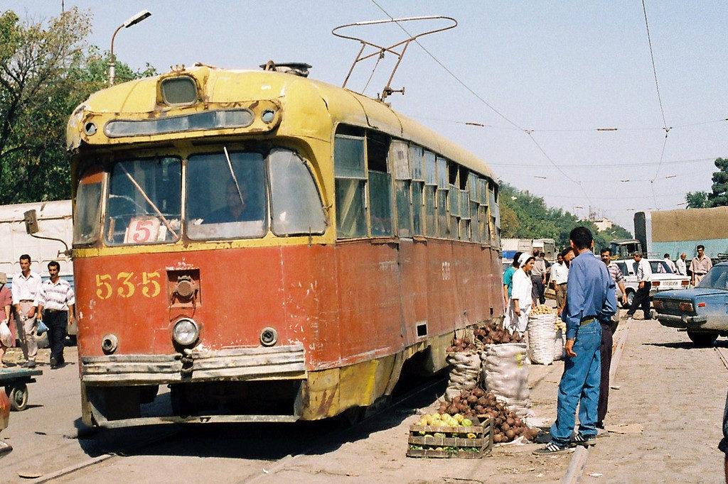 последние трамваи в баку