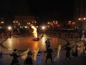 Праздник Новруз байрам - «Од чершенбе».