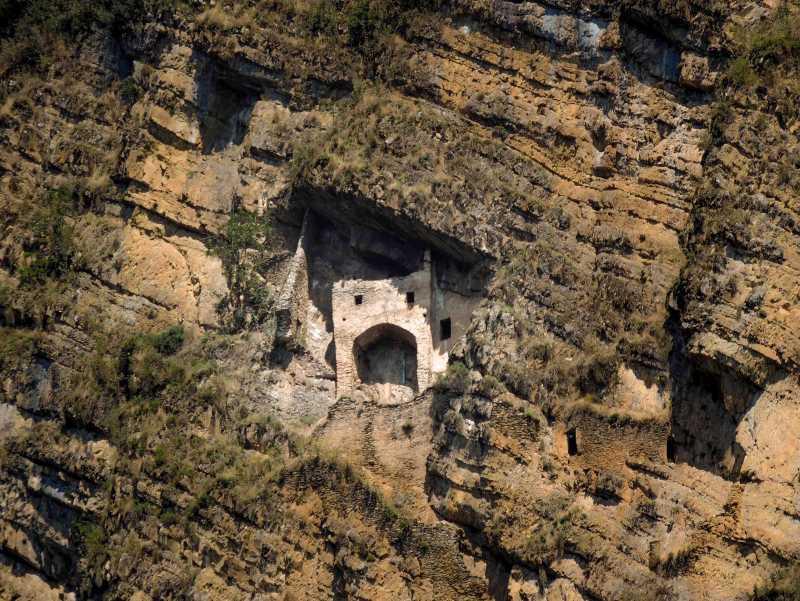 Восхождение к крепости «Пери Гала»